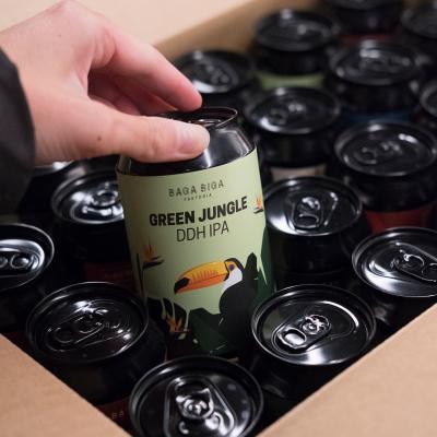 Pack de 24 latas de cerveza BBf