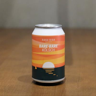 Lata de cerveza artesana Bare-Bare