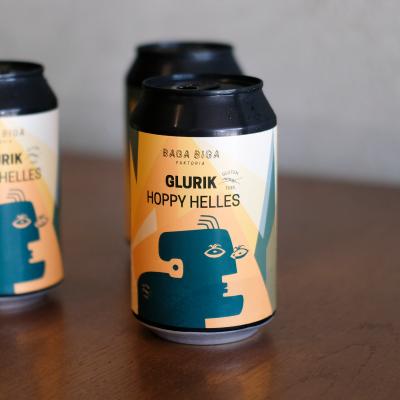 Lata de cerveza artesana Glurik